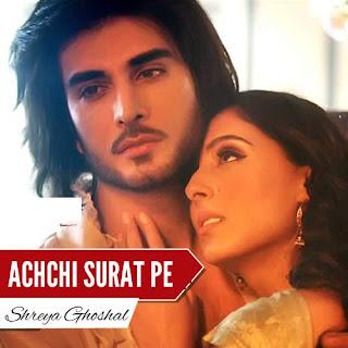 Achchi Surat Pe Lyrics - Jaanisar