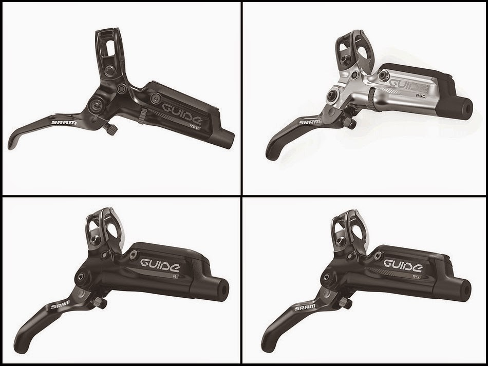 SRAM Guide brake range - RSC, RS, R