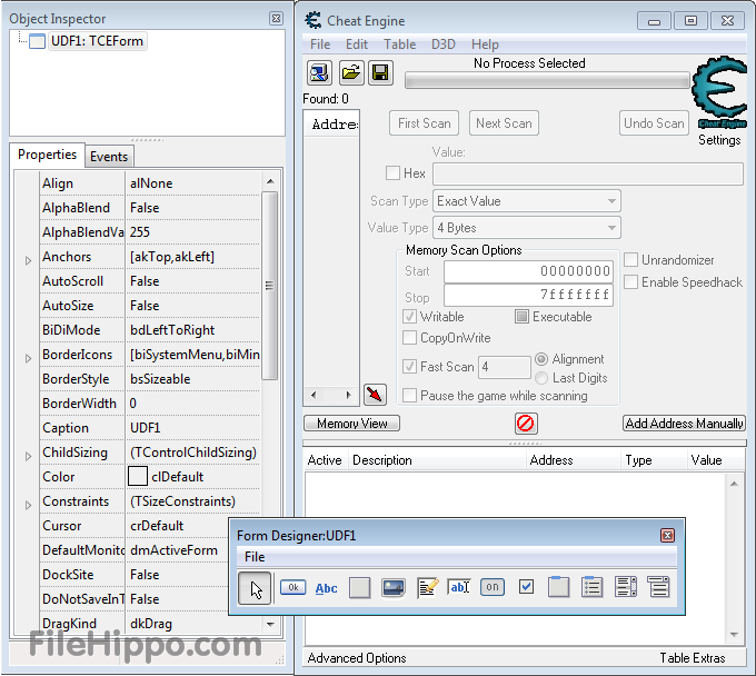 Free Download: Cheat Engine 6.2