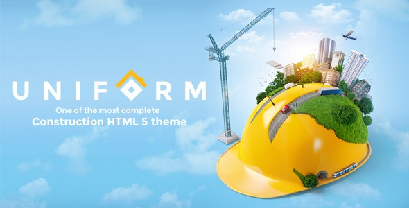 Best Responsive Construction HTML Template