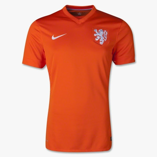 Jersey Belanda - Piala Dunia 2014