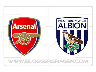 Prediksi Pertandingan West Bromwich Albion vs Arsenal