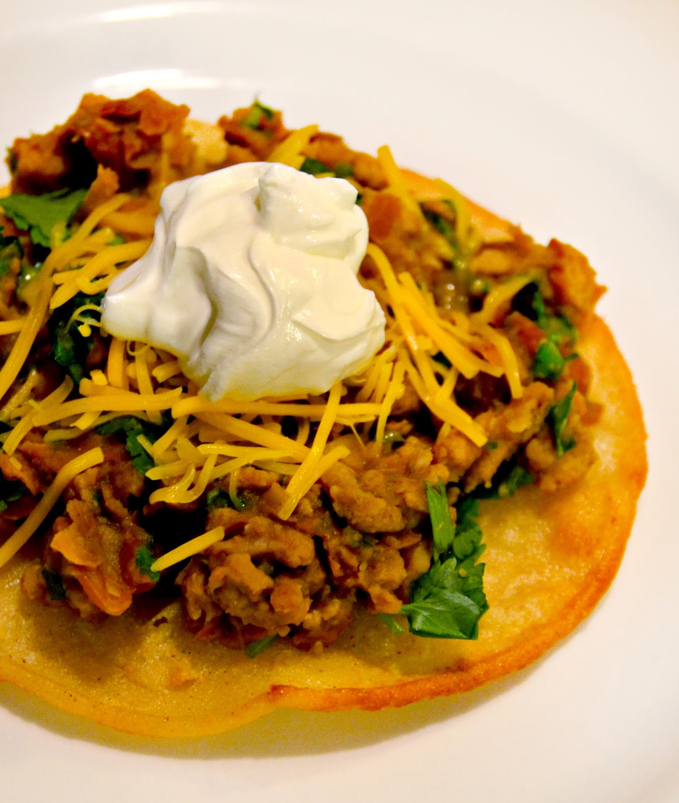 how to make tostada shells out of corn tortillas
