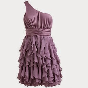 Cute Purple Beautiful Short Frok