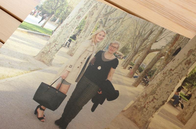 TheBlondeLion Lifestyle Fotogeschenke Prentu Aluminium Leinwand