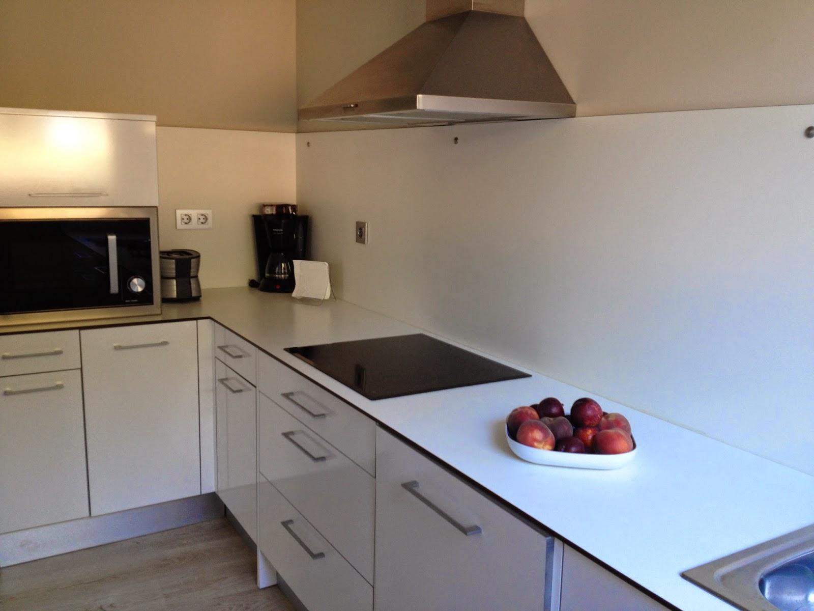 Cocina apartamentos Ruralsuite Tudela