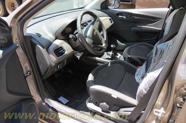 Novo Chevrolet Prisma 2014 (Onix Sedan) - Painel