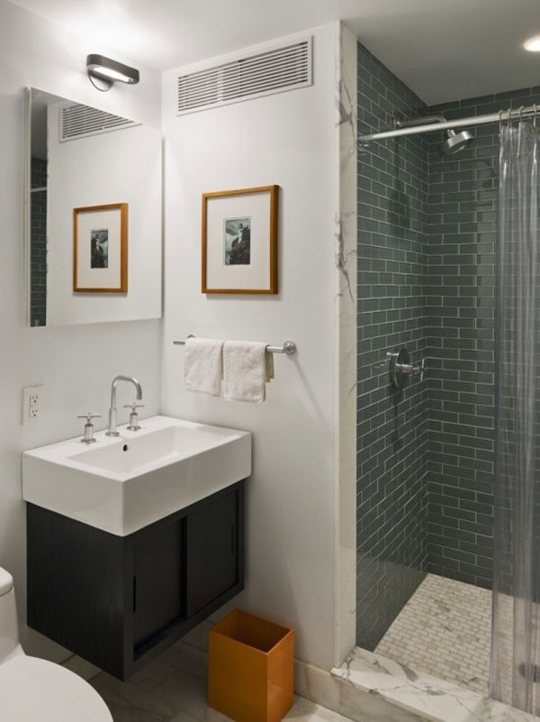 Ideas Baños Pequenos Diseno:Small Bathroom Ideas