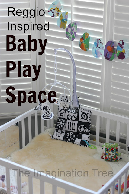 baby place area inspired by reggio emilia