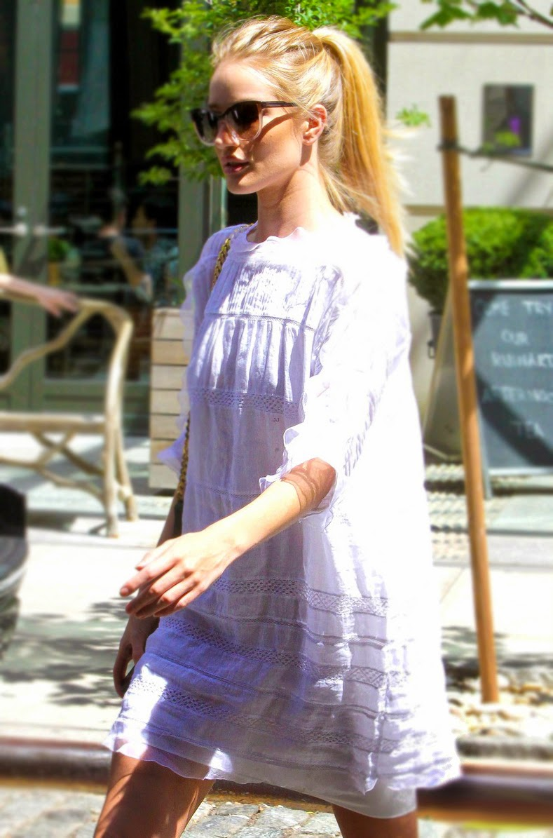 Rosie Huntington-Whiteley in New York City