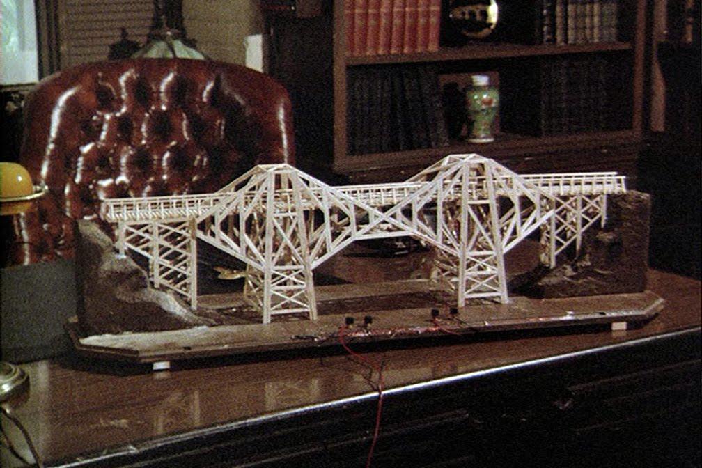 Il ponte costruito da Rick Romer