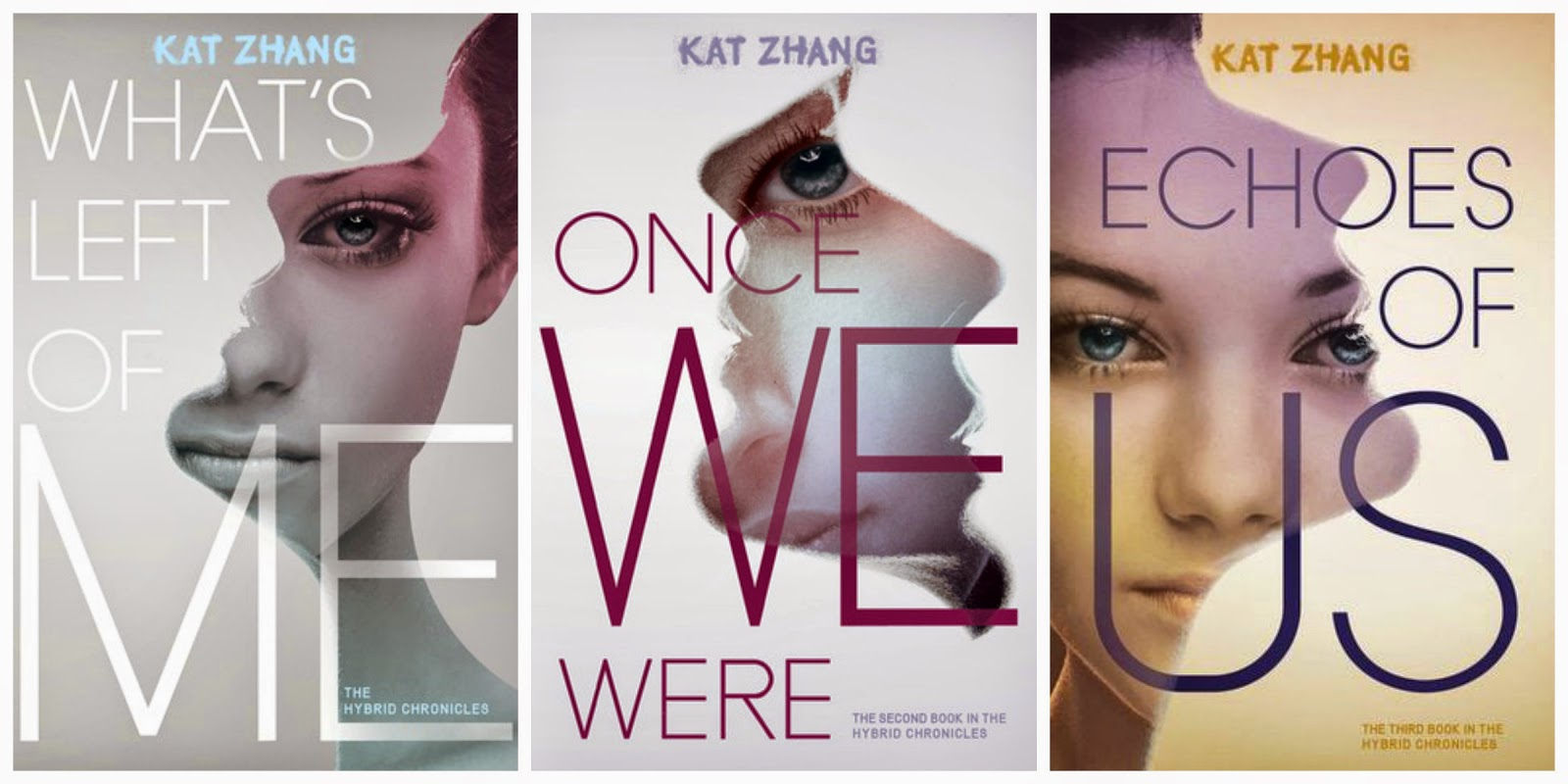What's Left of Me Once We Were Echoes of Us book covers