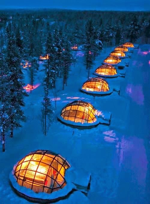 Glass Igloo Village Hotels, Finland