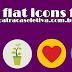 +50 flat icons gratuitos !