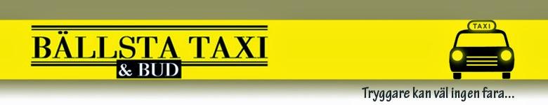 Bällsta Taxi & Bud