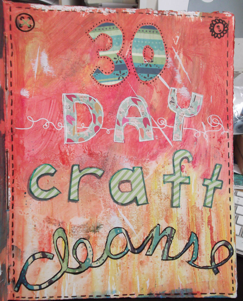 Crafty moira 30 day craft cleanse donations welcome for Crafts to donate to charity