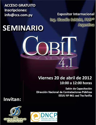 Imagen del Seminario de COBIT 4.1 en Asunción - Paraguay