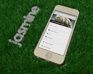 how to download Jasmine iPhone Apps