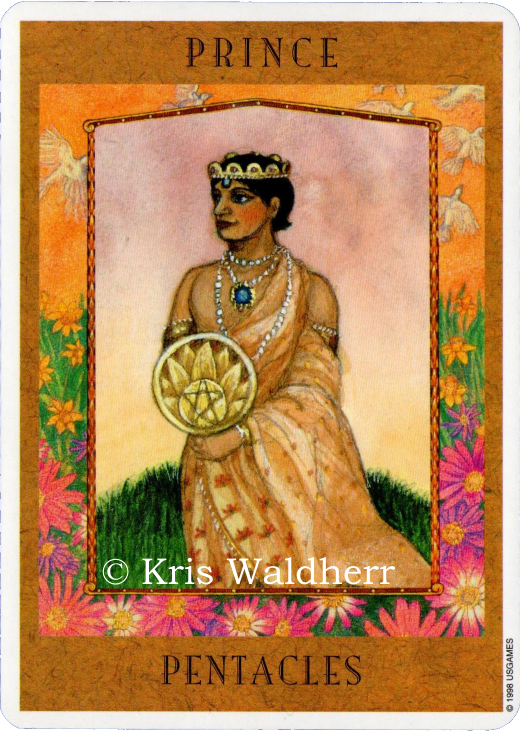 Goddess Tarot Prince of Pentacles