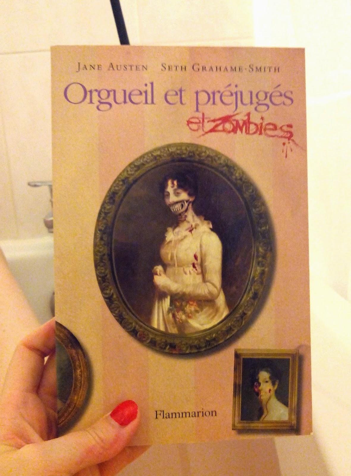 Orgueil et préjugés et zombies, livre, lecture, bullelodie