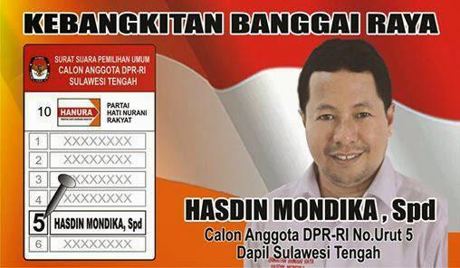 CALEG DPR RI TERBAIK BANGKEP DAN BALUT SULAWESI TENGAH (SULTENG)