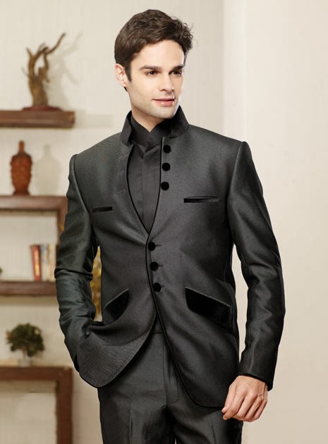 New Stylish Dress Wedding Party Pent Coat Mens Fashion 2014