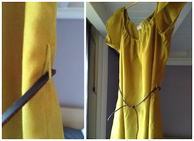 Robe légère en batiste de coton Citronille