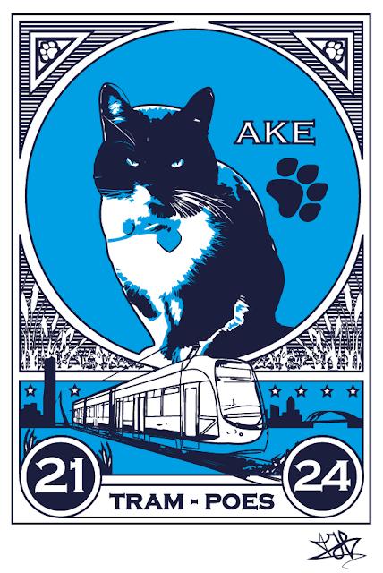 Gato Ake tram-Poes  no facebook mais de 28 mil seguidores