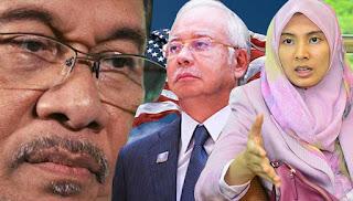 Nurul Izzah minta bantuan AS bebaskan Anwar