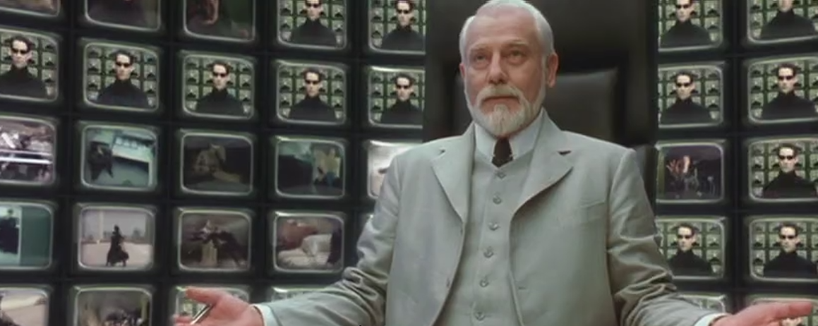 Bobby rivers tv my classic game show fantasy for Matrix reloaded architect