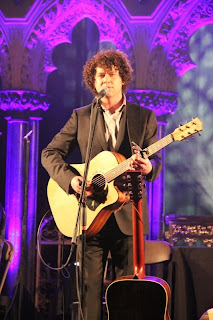 Declan O'Rourke at St. Werbough's Cathedral in Dublin.