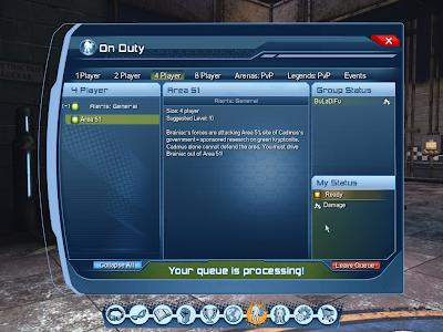 DC Universe Online - Area 51 Queued