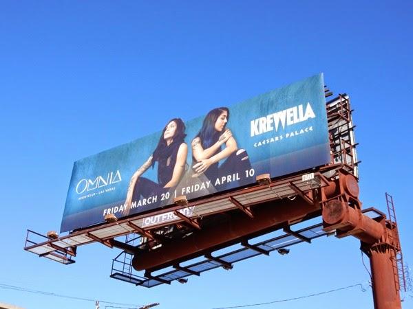 Krewella Omnia nightclub Caesars Palace billboard