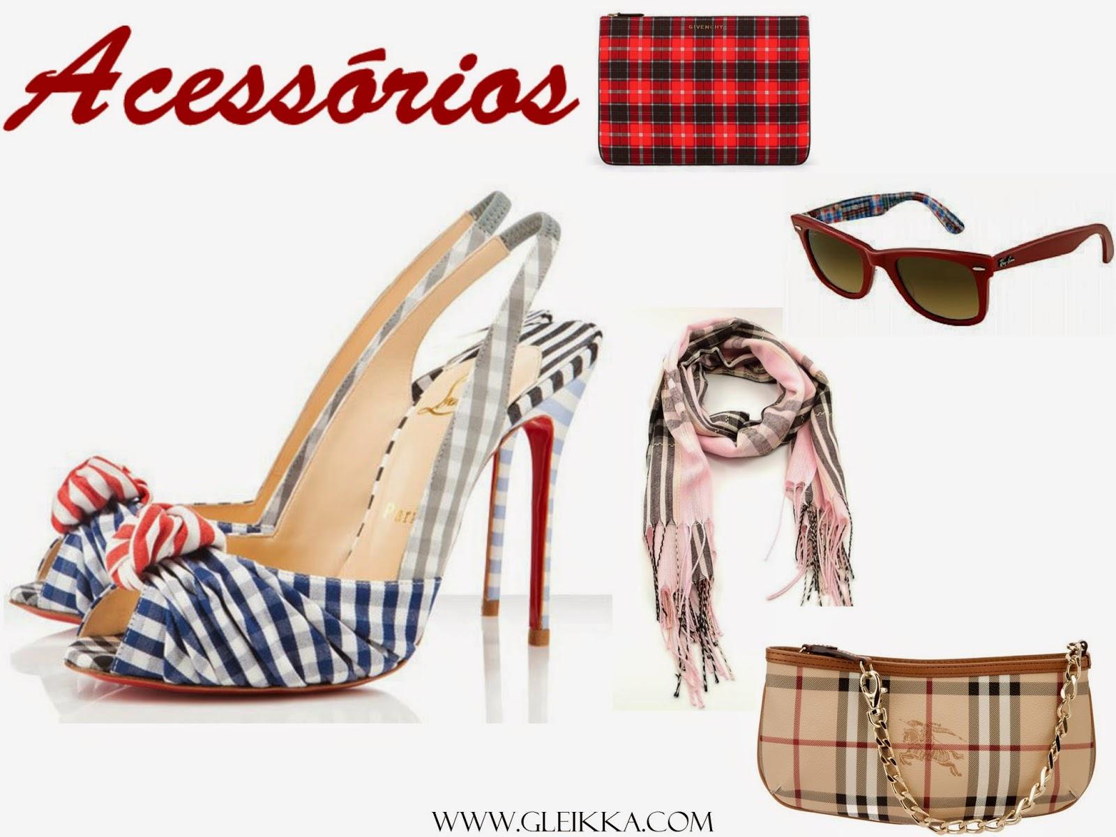 Blog Gleikka, Tendência 2014, Xadrez, Inspiração, Xadrez elegante, Saias xadrez, xadrez chic, look, look feminino, Outono inverno, acessórios xadrez