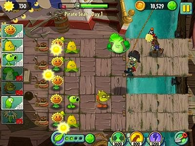 Plants vs Zombies 2 for Android download apk