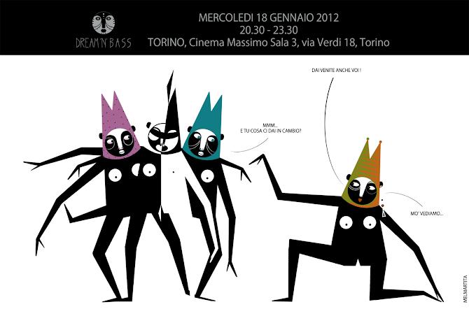 DREAM'N'BASS 18 GENNAIO CINEMA MASSIMO - TORINOOOOOOH ! - italì