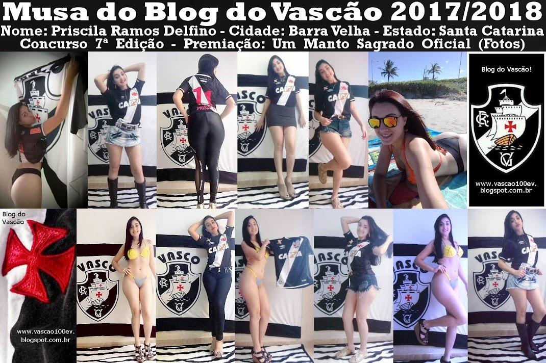 MUSA ATUAL DO BLOG DO VASCÃO ELEITA 2017/2018:
