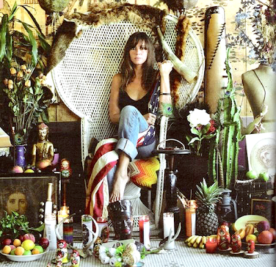 Cat Power, peacock chair, muse, St Barts