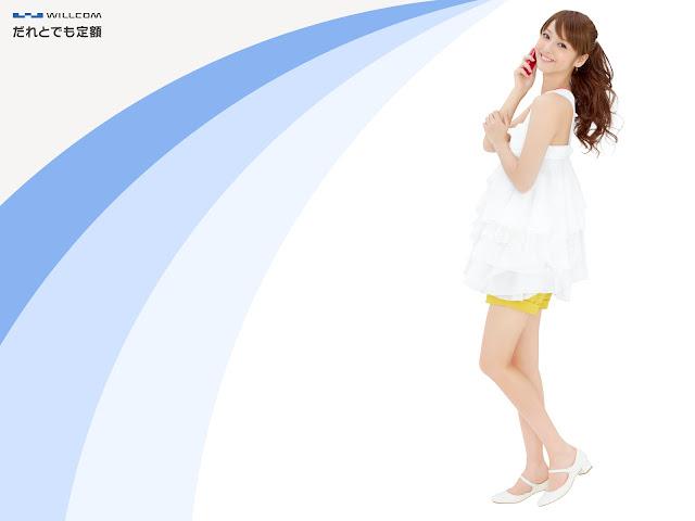 佐々木希 Sasaki Nozomi Willcom Wallpaper HD 3