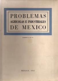 Revista Problemas Agrícolas e Industriales de México