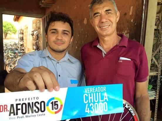 Chula é você na Cãmara. Vote 43000