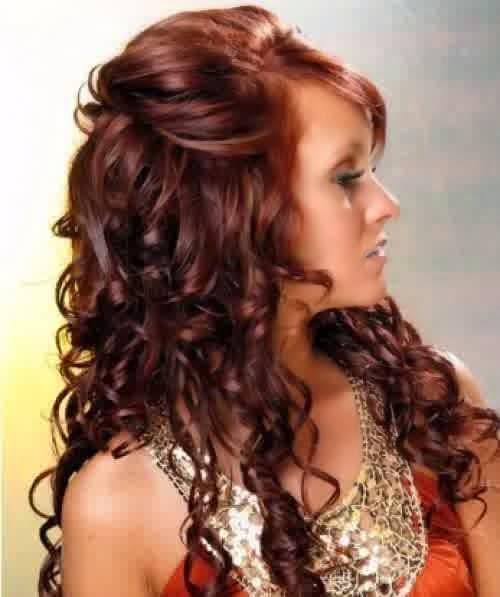 Gaya Rambut Curly
