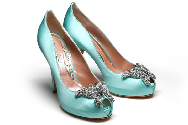 christian louboutin tiffany blue soled bridal shoes