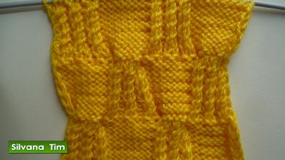 tutorial de tejido con dos palitos