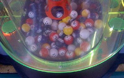 Bolas de bingo