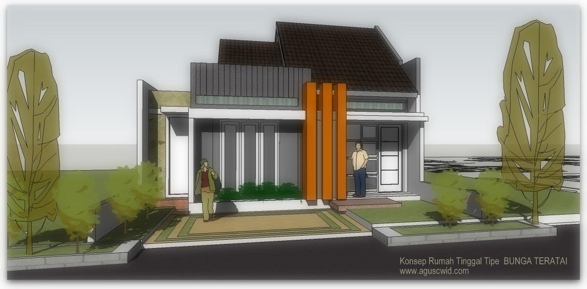desain rumah tinggal 9x17m2 desain desain rumah