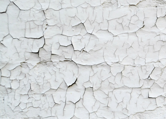 cracked, paint, pattern, texture, white