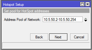 winbox mikrotik - hotspot setup 4