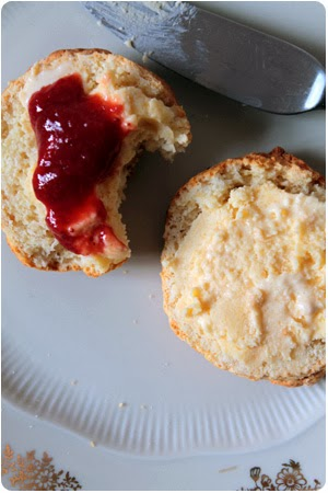 Devon Cream Tea - Scones mit Clotted Cream