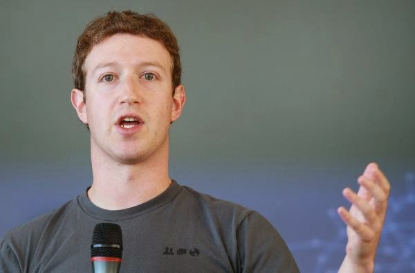 Facebook maker Mark Zuckerberg